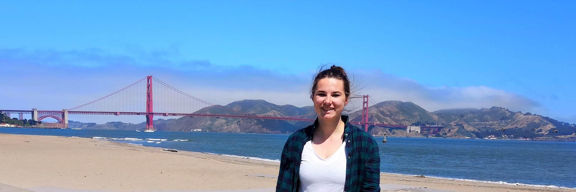 Meg in San Francisco