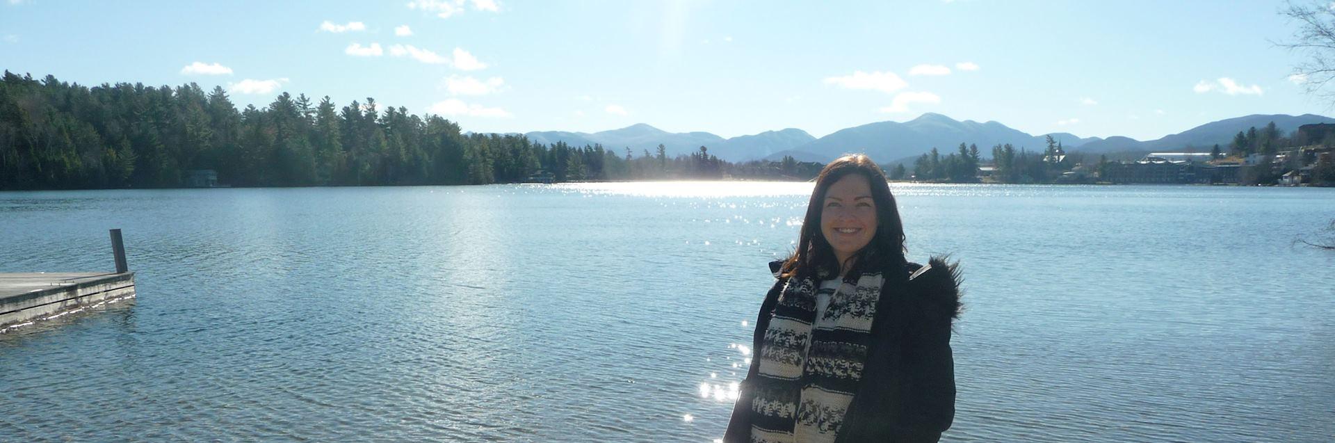 Shannon at Lake Placid