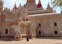Amanda exploring Myanmar