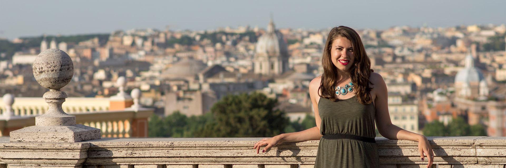 Caroline in Rome