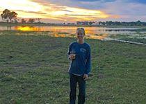 Devon at Sandibe Camp in Okavango Delta, Botswana