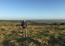 Hailey on safari at Shamwari Game Reserve