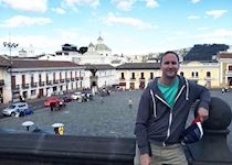 The beautiful city of Quito