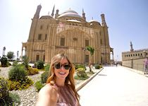 Jackie at the Citadel in Cairo
