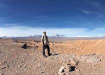 Jeff at Death Valley in the Atacama Desert
