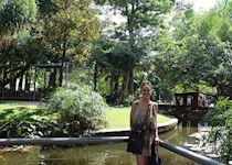 Jess at Brisbane Botanical Garden