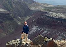 John at Mount Tarawera