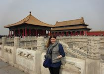 Kara at the Forbidden City, Beijing