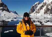 Kathryn in Antarctica