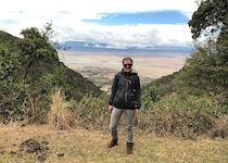 Overlooking the Ngorongoro Crater Tanzania