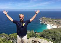 Luke at Cape Point