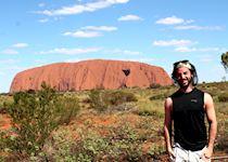 Before the sunset in Uluru