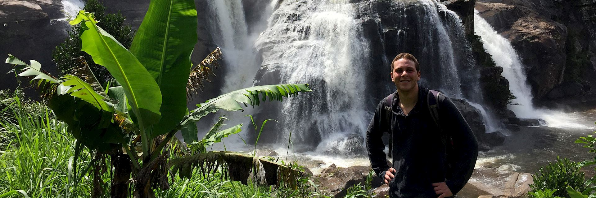 Mike in Ranomafana National Park, Madagascar
