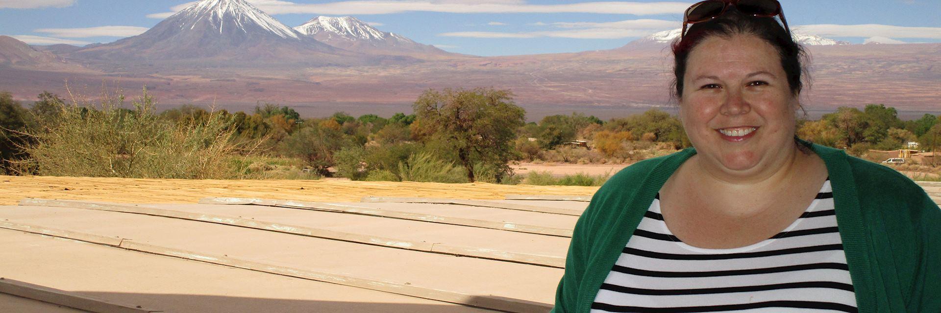 Rachel in Atacama