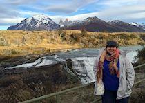 Rachel at Torres del Paine
