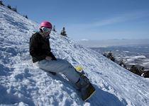 Snowboarding at Mt Hakkoda in Aomori