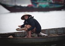 Fishing with locals in Hoi An