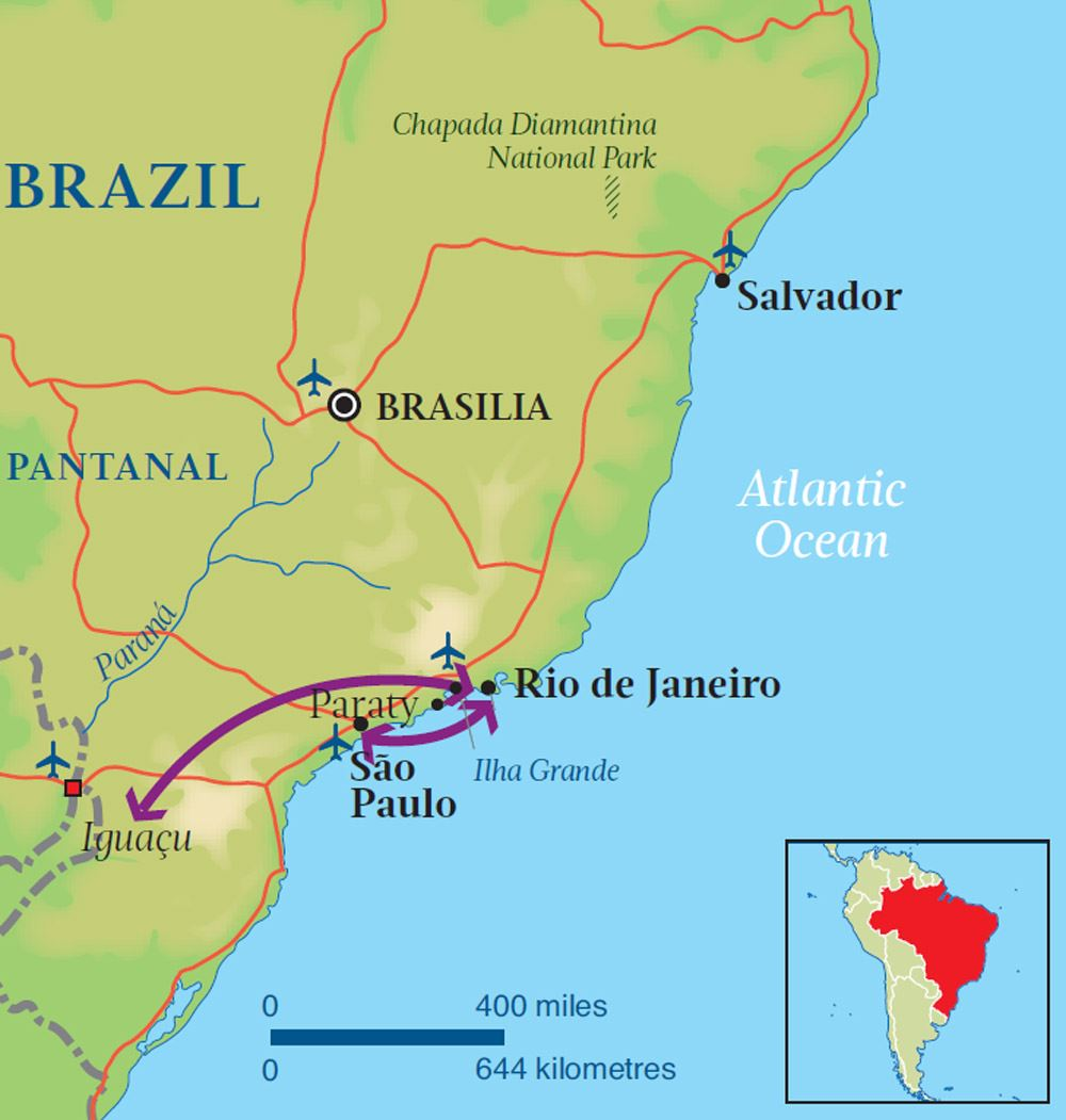 Perfect Trip Brazil Audley Travel