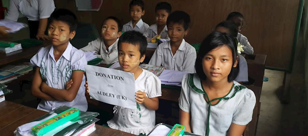Paya Ngoto School welcomes visiting Audley clients