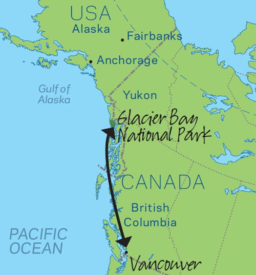USA Canada Cities And Wilderness Audley Travel - Map of usa and canada with cities